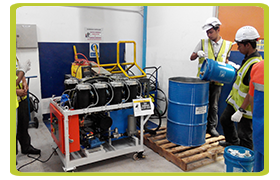 On-Site Oil Filtration Services